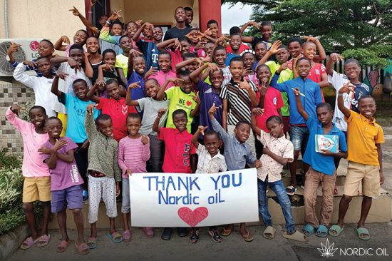 Nordic Oil x Land of Hope